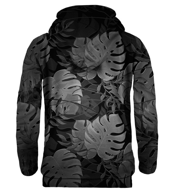 Monstera Black hoodie Thumbnail 2