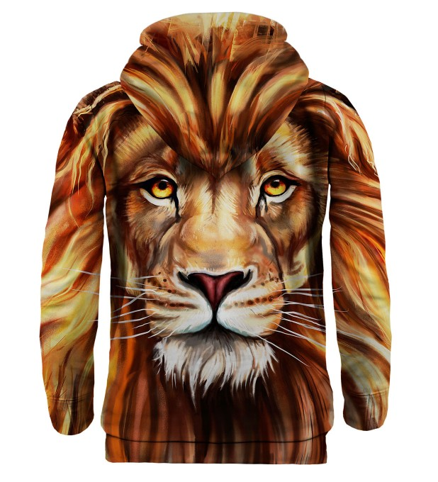 Bluza z kapturem Oil Painting Lion Miniatury 2