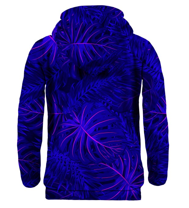 Tropical Dark Blue hoodie Thumbnail 2