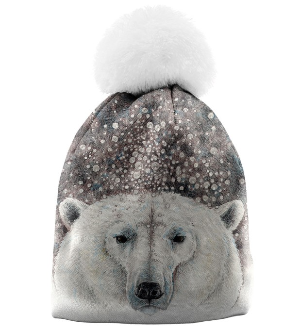 Bubble Bear womens beanie Thumbnail 1