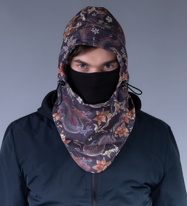 Japanese Dragon balaclava Thumbnail 2