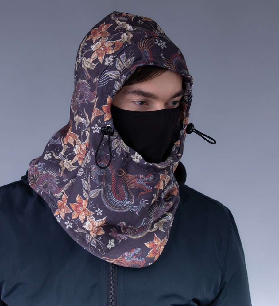 Mr. Gugu & Miss Go, Japanese Dragon balaclava Image $i
