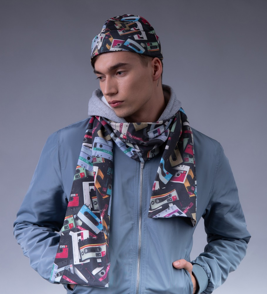 Mr. Gugu & Miss Go, Audio Cassettes scarf Image $i