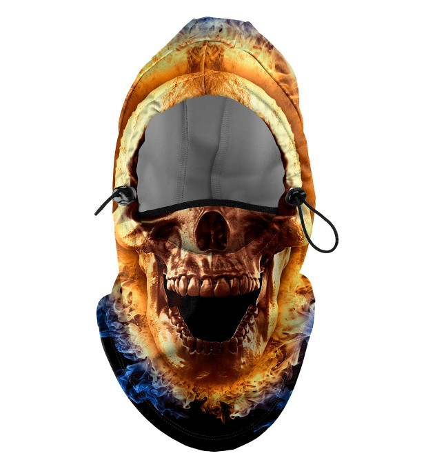 Fire Skull Face balaclava Miniature 1