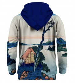 Mr. Gugu & Miss Go, Lake Suwa in Shinano province hoodie Thumbnail $i