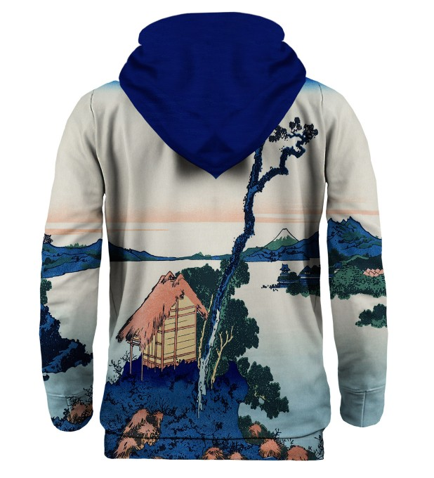 Lake Suwa in Shinano province hoodie Thumbnail 2