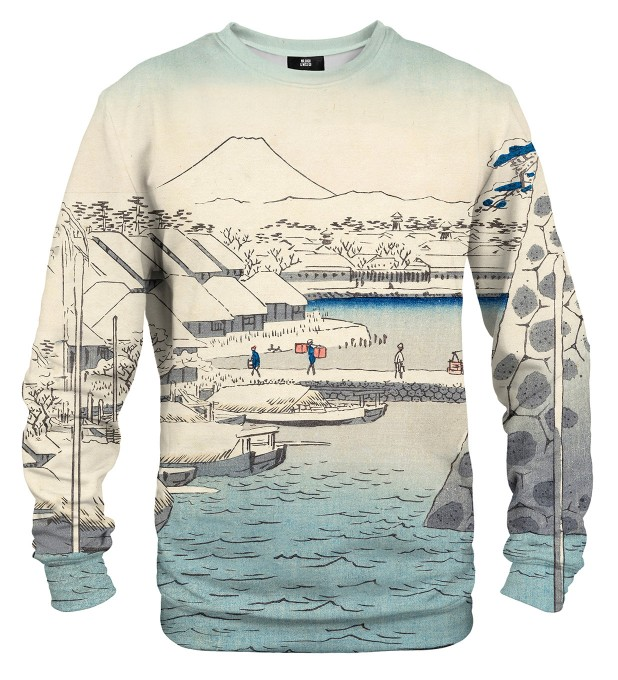Riverbank at Sukiya sweatshirt Miniaturbild 1
