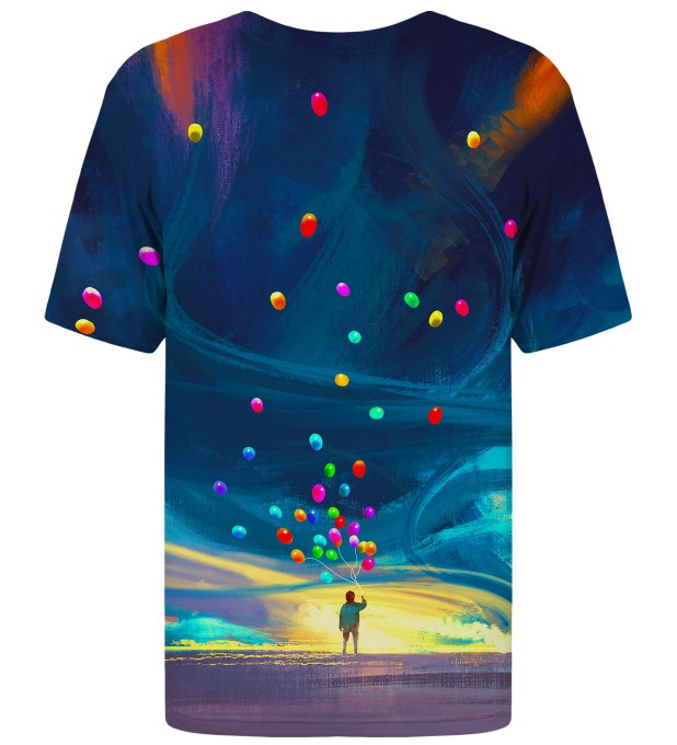 Colorful Balloons t-shirt Miniatura 2