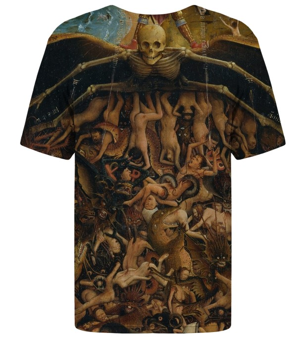 Crucifixion and Last Judgement t-shirt Miniatura 2