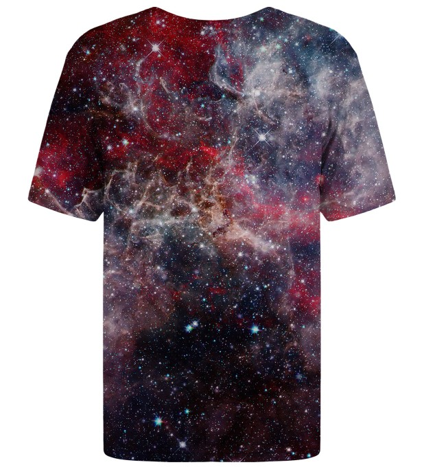 Deep Red Nebula t-shirt Miniatura 2