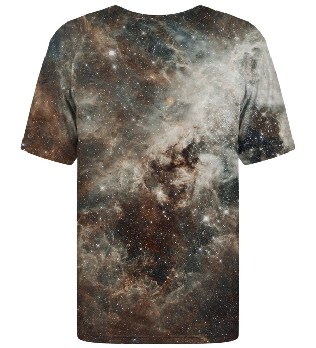 Golden Blue Galaxy t-shirt Miniaturbild 2