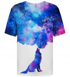 Mr. Gugu & Miss Go, Howling to Galaxy t-shirt Miniature $i