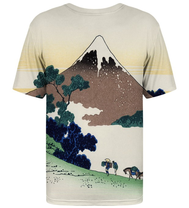 Inume pass in the Kai province t-shirt Miniatura 2