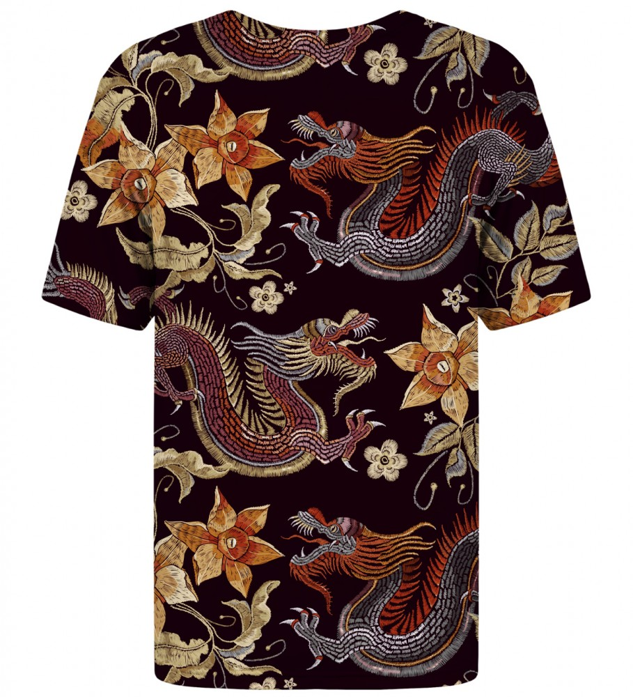 Mr. Gugu & Miss Go, Japanese Dragon t-shirt Image $i