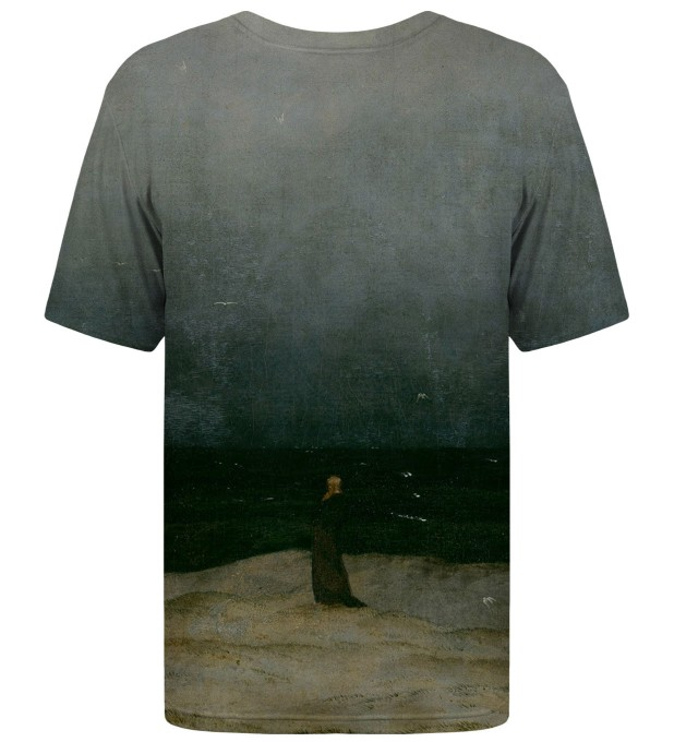 Monk by the Sea t-shirt Miniature 2