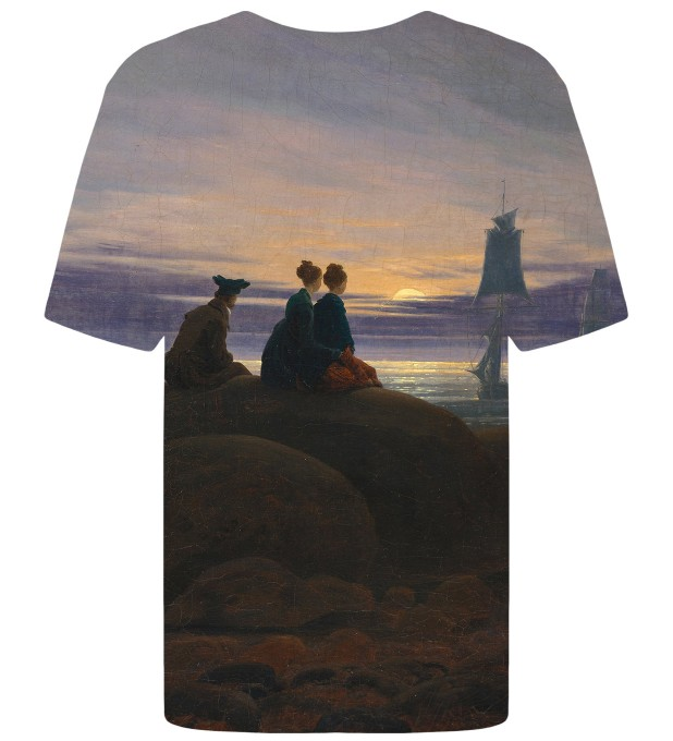 T-shirt Moonrise Over The Sea Miniatury 2