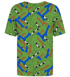 Mr. Gugu & Miss Go, T-shirt Pepe the frog pattern Miniatury $i
