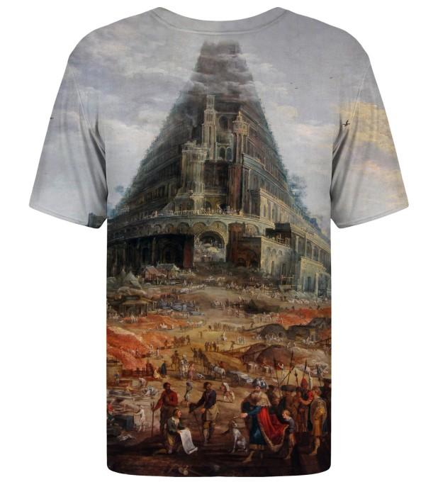 Tower of Babel t-shirt Miniature 2