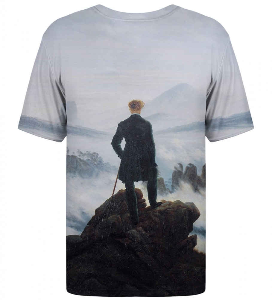 Mr. Gugu & Miss Go, Wanderer above the Sea of Fog t-shirt Imagen $i