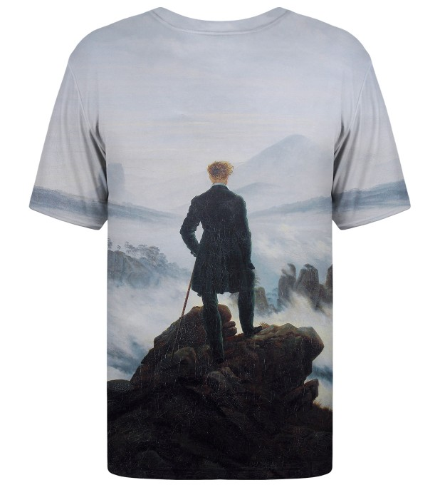 Wanderer above the Sea of Fog t-shirt Miniatura 2