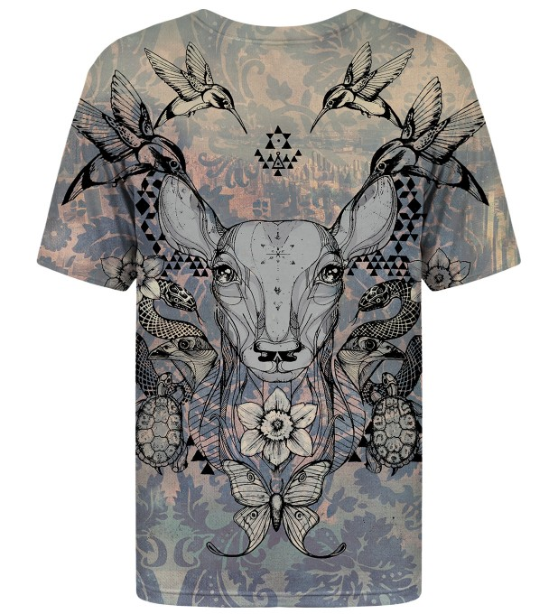 Deer Colage t-shirt Thumbnail 2