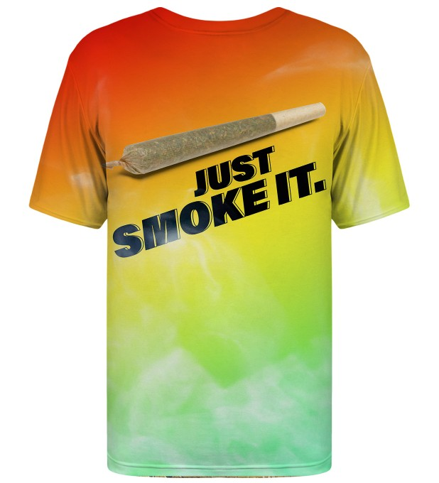 T-shirt Just Smoke It Miniatury 2