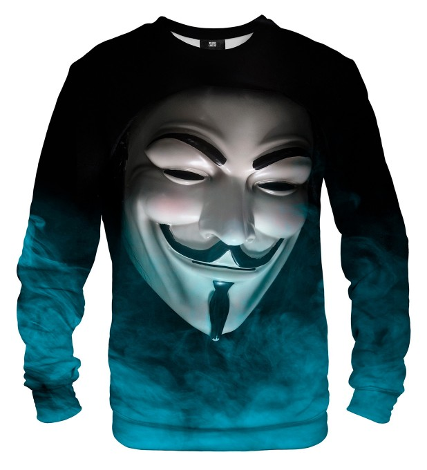 Anonymous Face sweatshirt Miniaturbild 2