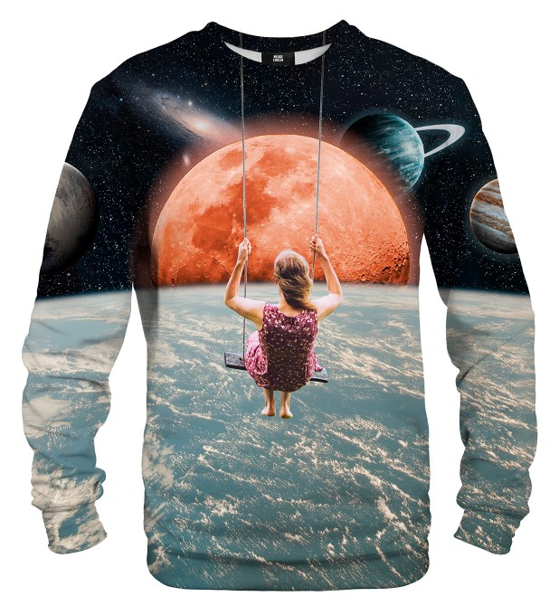 Swing in Space sweatshirt Miniaturbild 1