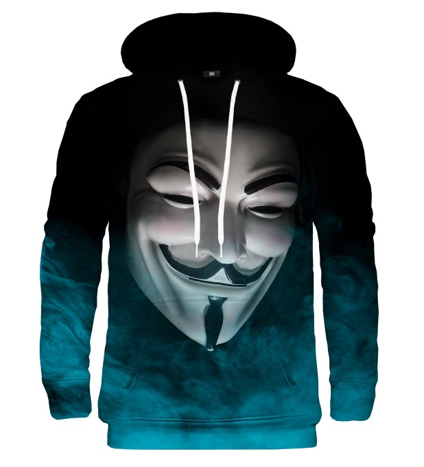 Bluza z kapturem Anonymous Face Miniatury 1