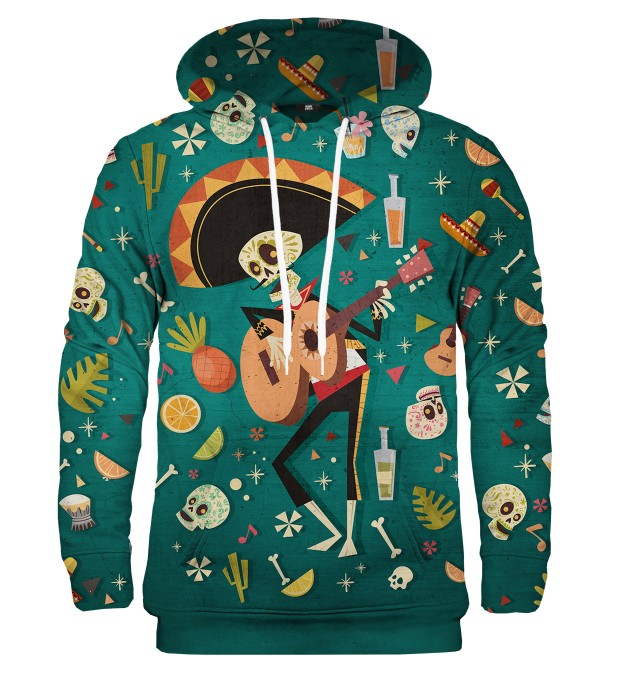 Musician of Death hoodie Thumbnail 1