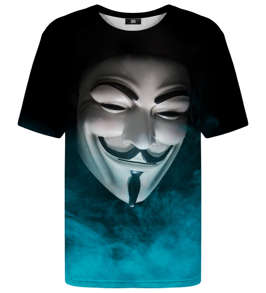 Mr. Gugu & Miss Go, Anonymous Face t-shirt Image $i