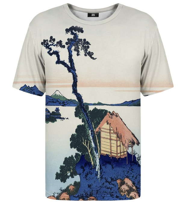 Lake Suwa in Shinano province t-shirt Thumbnail 1