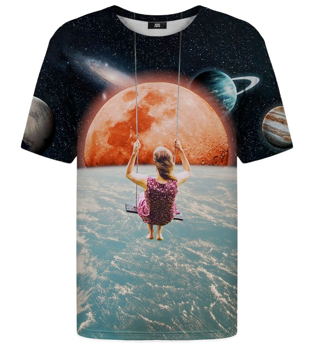T-shirt ze wzorem Swing in Space Miniatury 2