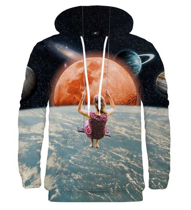 Swing in Space hoodie Miniature 2