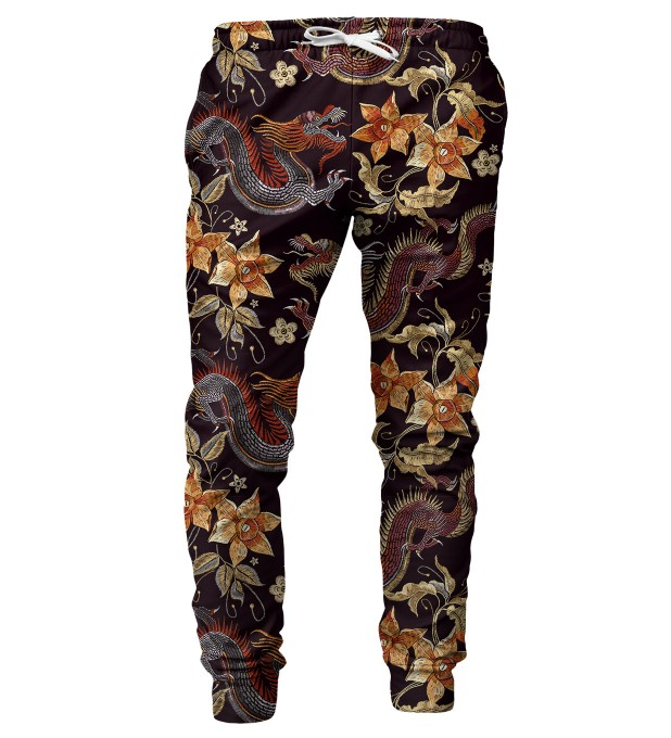 Japanese Dragon mens sweatpants Thumbnail 1