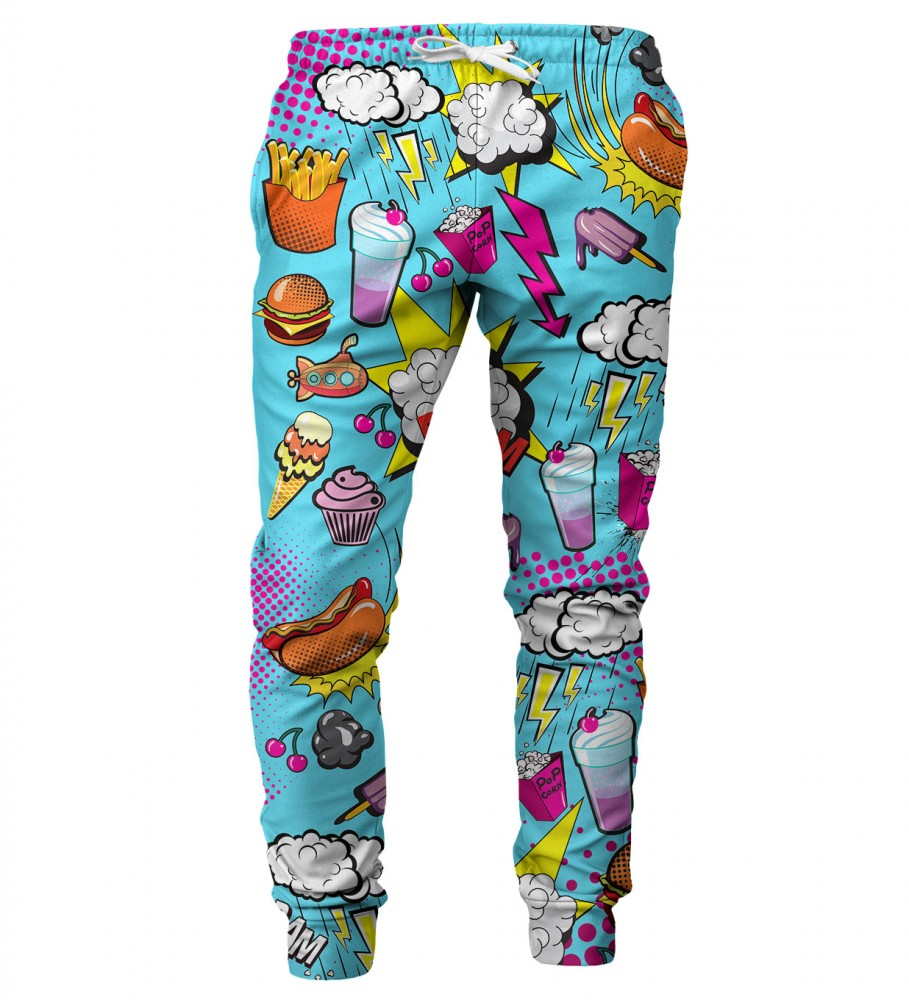 Mr. Gugu & Miss Go, Comics mens sweatpants Image $i
