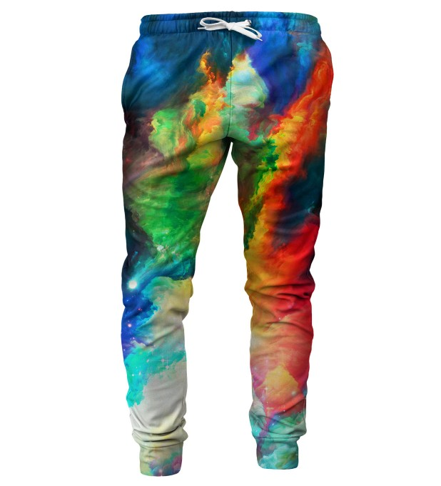 Colorful Space mens sweatpants Miniature 1