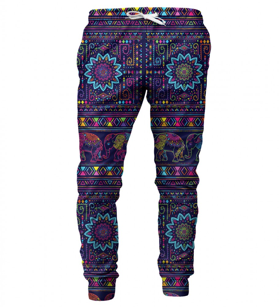 Mr. Gugu & Miss Go, Elephants mens sweatpants Image $i