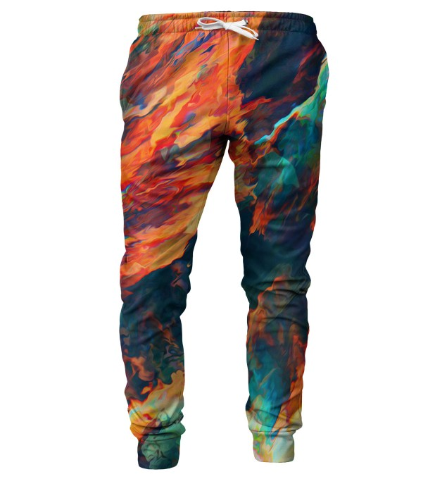 Sky is burning mens sweatpants Thumbnail 1