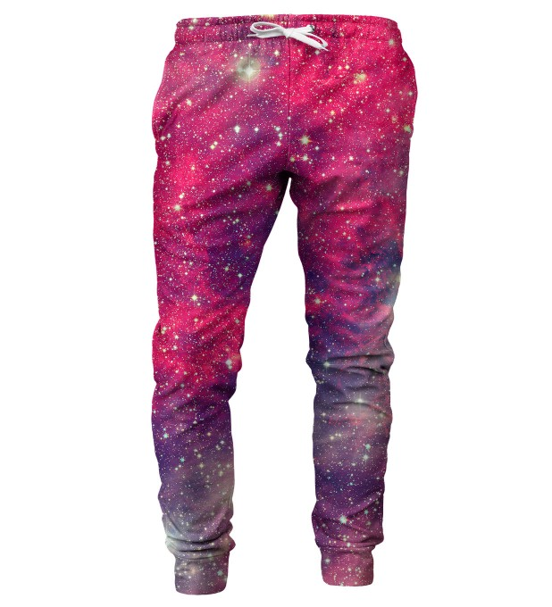 Red Galaxy mens sweatpants Thumbnail 1