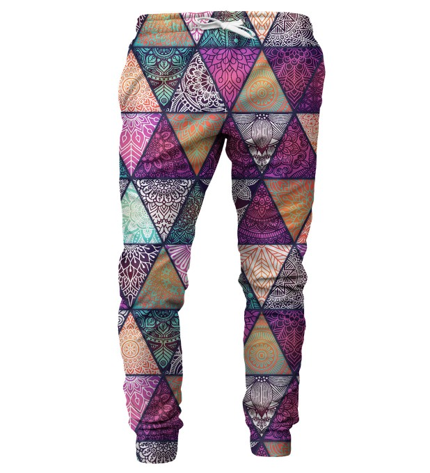 Triangles mens sweatpants Miniature 1