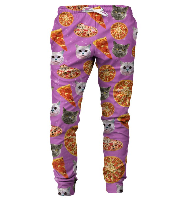 Pizzacat mens sweatpants Thumbnail 1
