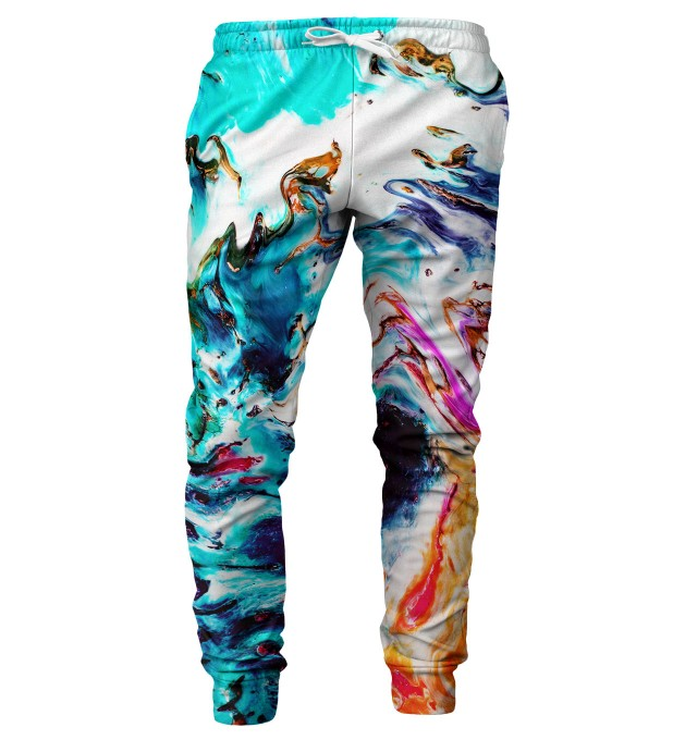 Abstract Painting mens sweatpants Miniature 1