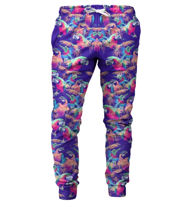 Parrots mens sweatpants Miniatura 1