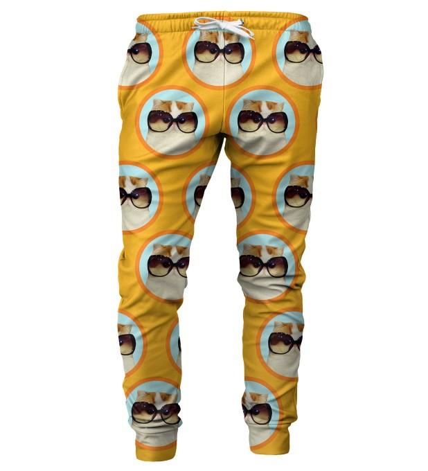 FABULOUS CAT mens sweatpants Thumbnail 1