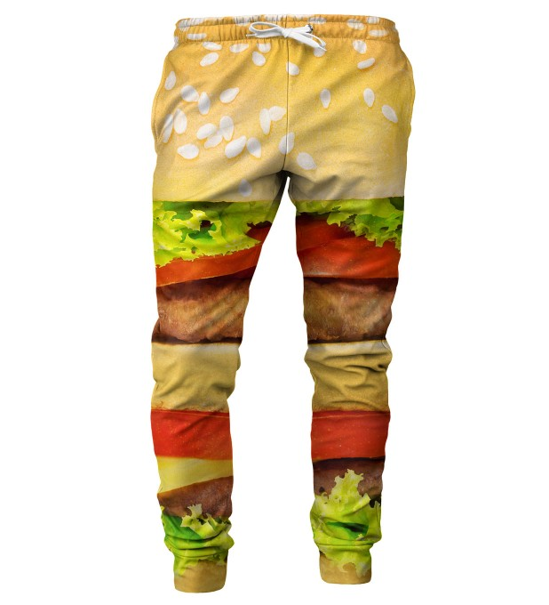 Hamburger mens sweatpants Miniatura 1