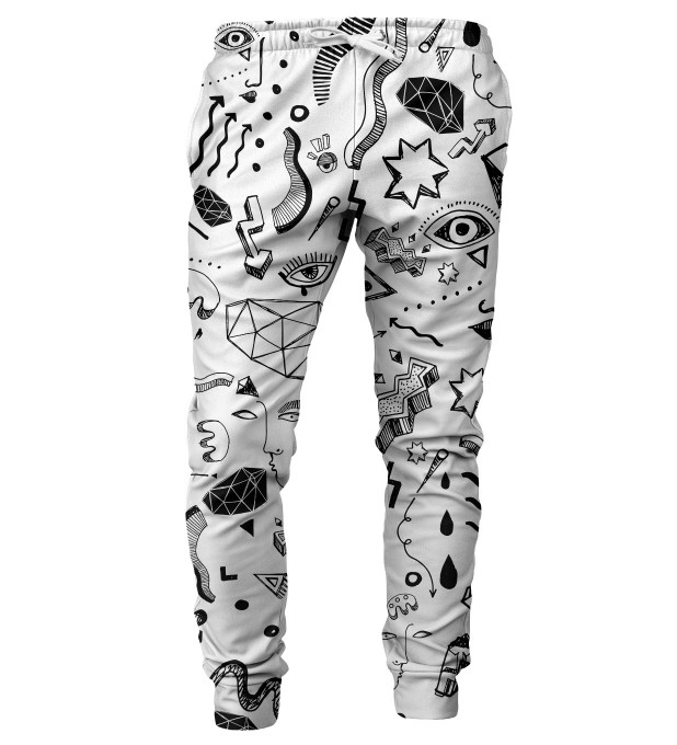 Symbols mens sweatpants Thumbnail 1