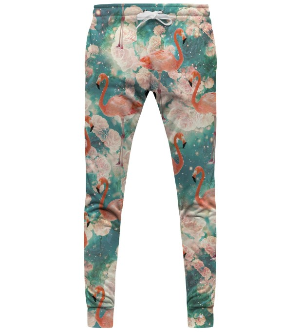 Flamingos womens sweatpants Thumbnail 1
