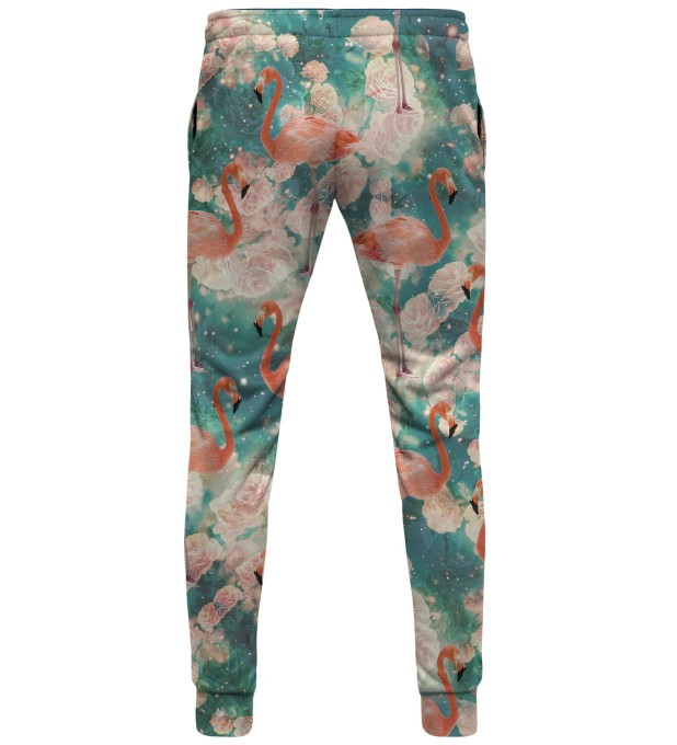 Flamingos womens sweatpants Thumbnail 2