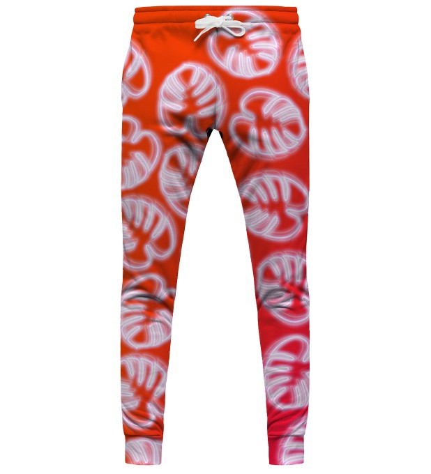 Neon Red womens sweatpants аватар 1